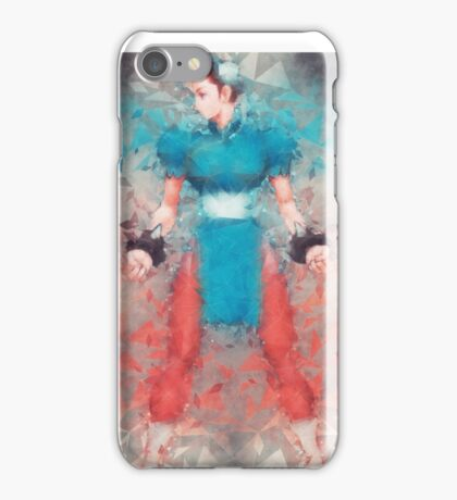 Street Fighter 2 - Chung Le iPhone Case/Skin