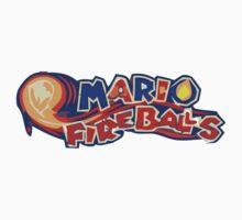 The Mario FireBalls Baby Tee