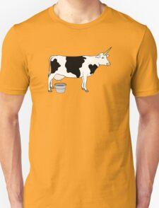 Magical Unicorn Dairy Milk Cow T-Shirt