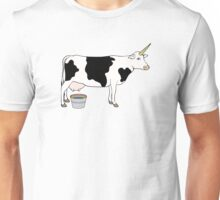 Magical Unicorn Dairy Milk Cow Unisex T-Shirt