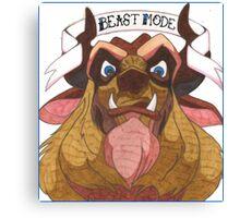 Disney's Beast - Beast Mode Canvas Print