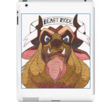 Disney's Beast - Beast Mode iPad Case/Skin
