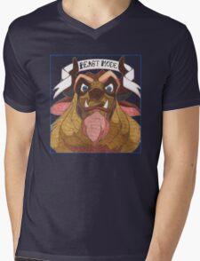 Disney's Beast - Beast Mode Mens V-Neck T-Shirt