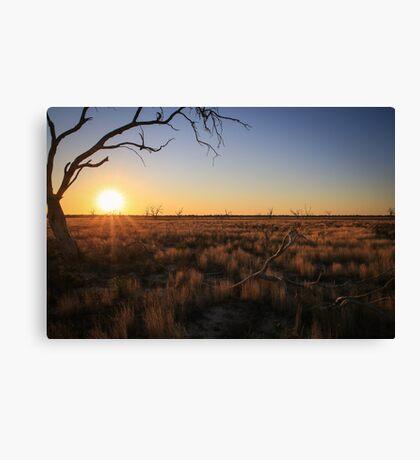 Outback Sunrise Canvas Print