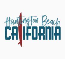 Huntington Beach California T-shirt - Surfboard Kids Tee