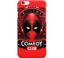 Comedy Club iPhone Case/Skin