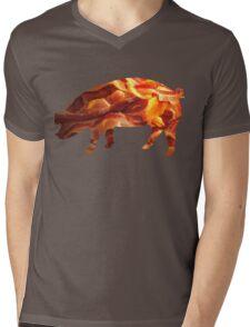 Mmm...Bacon. Mens V-Neck T-Shirt