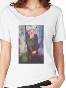 Awaiting for his food... Women's Relaxed Fit T-Shirt