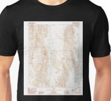 USGS TOPO Map California CA Ubehebe Peak 102093 1987 24000 geo Unisex T-Shirt
