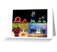 Funny Critters! Greeting Card