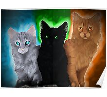 Warrior cats - Power of Three Poster