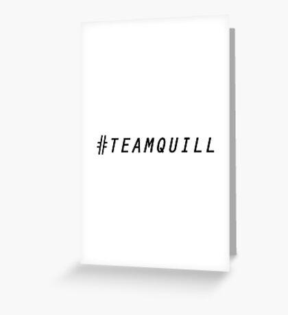 Team Quill v2 Greeting Card
