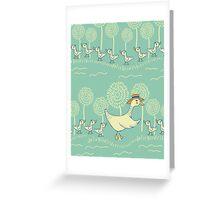 Mama Duck Greeting Card