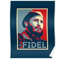 FIDEL CASTRO Hope Poster