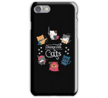 Dungeons & Cats iPhone Case/Skin