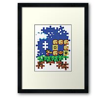 Alex Kidd Bros Framed Print
