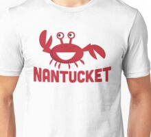 Nantucket T-shirt - Funny Red Crab Unisex T-Shirt