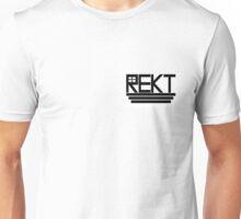 """CS:GO Inspired """"REKT"""" Crosshair Design Unisex T-Shirt"""