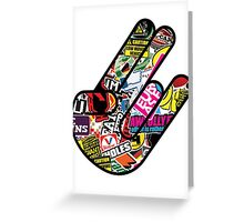 JDM shocker Greeting Card