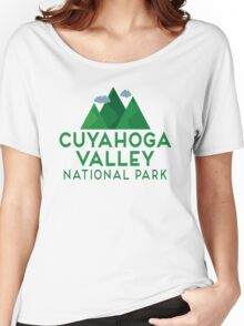 Cuyahoga Valley National Park T-shirt - Mountain Women's Relaxed Fit T-Shirt