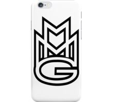 MMG White iPhone Case/Skin