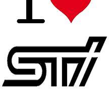 I <3 STI by Ninjastylie