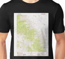 USGS TOPO Map California CA Station Peak 295303 1987 24000 geo Unisex T-Shirt