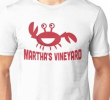 Martha's Vineyard T-shirt - Funny Red Crab Unisex T-Shirt