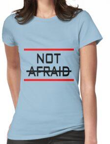 Not Afraid Eminem Womens Fitted T-Shirt