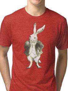 Mr. Rabbit and His Golden Watch Tri-blend T-Shirt