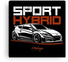 Sport Hybrid. Honda CRZ Canvas Print