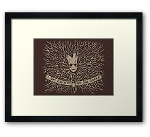I Am and We Are Framed Print