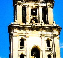 Beautiful Mexican Cathedral Bell Tower by Mark Tisdale