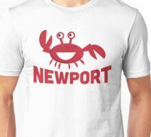 Newport T-shirt - Funny Red Crab Unisex T-Shirt