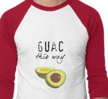 Guac This Way Men's Baseball ¾ T-Shirt