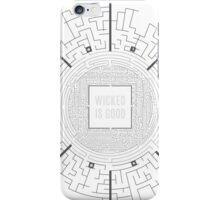The Maze Runner Layout iPhone Case/Skin