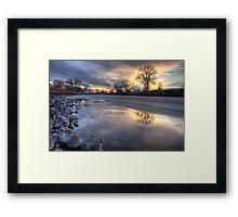 Moisturized Dawn Framed Print