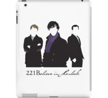 221Believe iPad Case/Skin