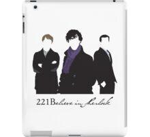 221Believe iPad Case/Skin