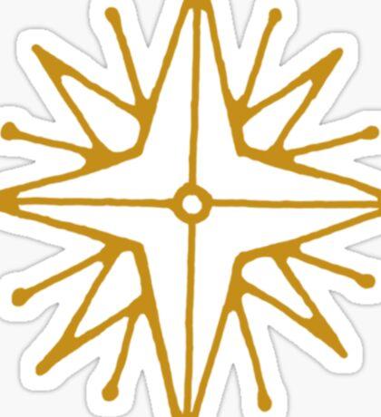 Star of Feanor Sticker
