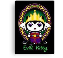 Evil Kitty Canvas Print