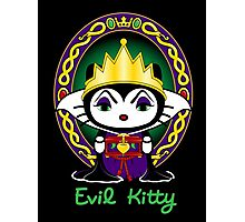 Evil Kitty Photographic Print