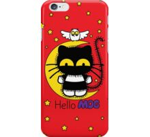 Hello Mog - Red iPhone Case/Skin