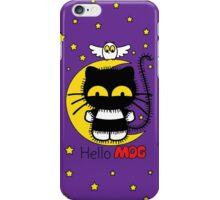 Hello Mog - Purple iPhone Case/Skin