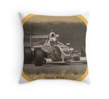 Formula Atlantic Race Car Throw Pillow