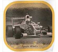 Formula Atlantic Race Car Poster