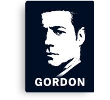 Inspired by Gotham - James Gordon Portrait Canvas Print