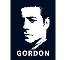 Gotham & Batman - James Gordon Portrait Photographic Print