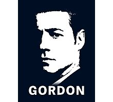 Inspired by Gotham - James Gordon Portrait Photographic Print