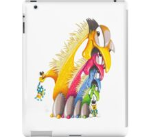 M'ODD'STER 09 - EARLY'BIRD GETS THE MONSTER iPad Case/Skin